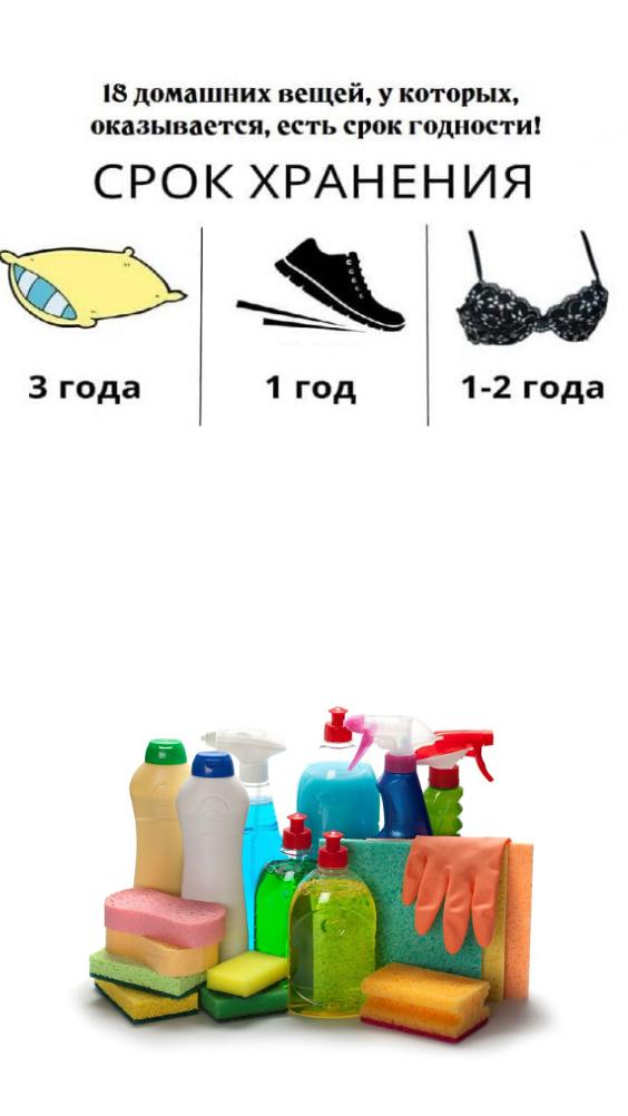 Срок годности!18 домашних вещей, у которых, есть срок годности!