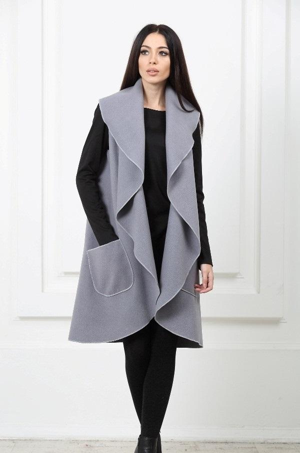 Пальто-накидки на весну. Идеи и выкройки для тех, кто шьет своими руками.
