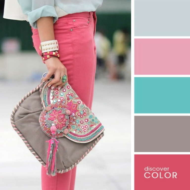 Шестнадцать примеров идеального сочетания цветов в одежде