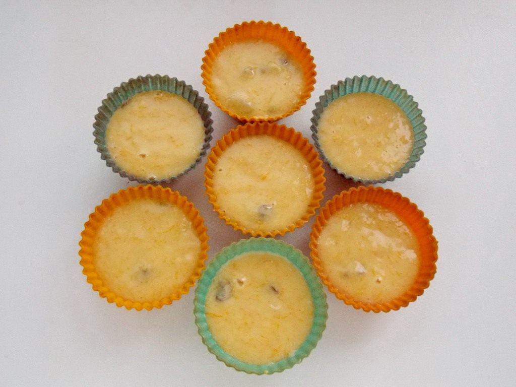 Тыквенные кексы с изюмом
