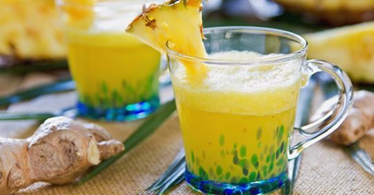 Как приготовить ананасово-имбирный смузи, чтобы избавиться от боли и воспаления