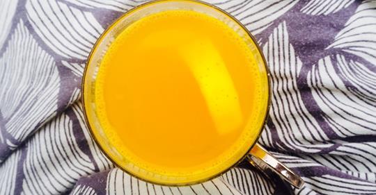 Как приготовить лимонад из куркумы, чтобы полностью снять стресс и беспокойство