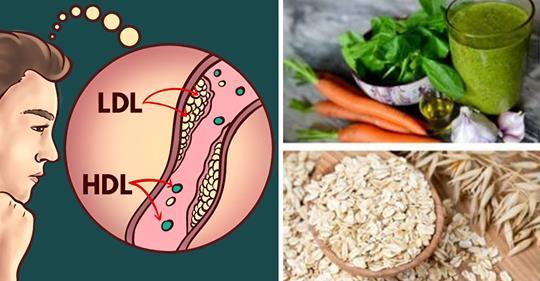 Пониженный уровень холестерина с помощью этих 5 домашних средств